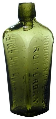 Hoboken Rotterdam Genever Gin Bottle…Click VISIT to find out how much this Bottle sold for and see more Bottles at MAD On Collections. Please feel free to share this pin or any other content from MADonC.com. MADonC.com is for the objects people love because there is always something more... Please do follow this board. Check us out on Facebook - https://www.facebook.com/Mad-on-Bottles-818609791640083/ #bottle #Gin #GinBottle #MADonC