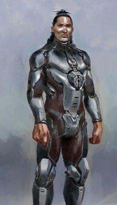 Alien Concept Art, Game Concept Art, John 117, Justice League Comics, Halo Armor, Halo Master Chief, Halo Series, Futuristic Armour, Future Soldier