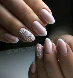 Beautiful simple nail