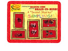 FREE!!! A 'Secret Stories' anchor mini-pack for teaching Reading & Writing with the Brain-In-Mind!!  (Follow for notification all FREE DOWNLOAD WINDOWS on TpT of initial postings!)