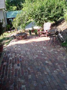 Antique Brick Patio Tuto