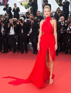 At This Years Cannes Film Festival Models Ruled the Red Carpet http://ift.tt/1XOKhSW #Vogue #Fashion