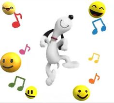 Snoopy - Adoro guardare Snoopy Dancing You are in the right place about salute tout le monde Here we offer y - Snoopy Song, Snoopy Happy Dance, Snoopy Quotes, Dancing Snoopy, Good Morning Snoopy, Cute Good Morning, Monday Morning, Snoopy Images, Snoopy Pictures