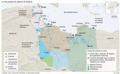 El norte de África convulso