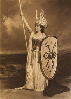 Mrs Leslie as Brunhilde page 148