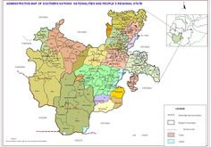 Very detailed map of Sidama region. Located on this map is the zone where A are from.