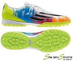 Adidas F10 TRX TF Messi (F32716) TG White/Black/Slime