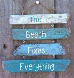 Beach Sign #beachsignswooden