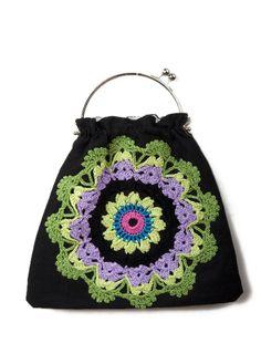 vegan - crochetdoll's blog: Borsine crochet e non solo...