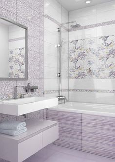 bathroom remodeling ideas is unquestionably important for your home. Whether you choose the serene bathroom or small laundry room, you will make the best remodeling ideas bathroom for your own life. Serene Bathroom, Bathroom Design Small, Bathroom Layout, Bathroom Interior Design, Home Interior, Master Bathroom, Cottage Style Bathrooms, Shower Panels, Purple Bathrooms