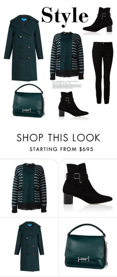 """132"" by meldiana ❤ liked on Polyvore featuring Marni, Manolo Blahnik, M.i.h Jeans, Tod's and T By Alexander Wang"