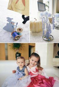 princess dresses, sewing mice, and cinderella pumpkin