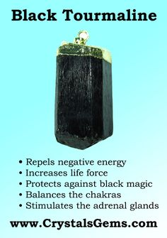 Black tourmaline is one of the strongest protective and grounding stones out there.