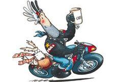 OGRI and Kickstand Classic Cartoon Characters, Classic Cartoons, Classic Video, Cafe Racer Motorcycle, Bike Art, Ms Gs, Giraffe, Hero, Animation