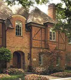 I love brick Tudors. The brick work is so beautiful!