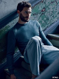 Fifty Shades of Grey actor Jamie Dornan photographed by Mark Seliger and styled by Dan May, for the February 2015 coverstory of Details magazine. Jamie Dornan, Dulcie Dornan, Mark Seliger, Details Magazine, Mr Grey, Fifty Shades Of Grey, Belle Photo, Hugo Boss, Beautiful Men