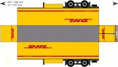paper modelvolvo trucks   Trailer-ACO