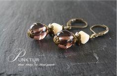 *Vintage Mood No°1* - Bronze Ohrhänger von PUNKTUR - kleine Schätze von Hand gemacht auf DaWanda.com