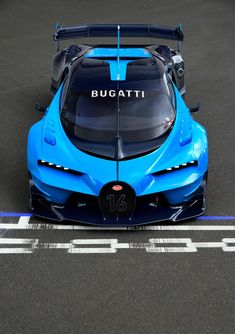 Bugatti Vision Gran Turismo Frankfurt 2015 - Galería en Motor y Racing Luxury Sports Cars, Exotic Sports Cars, Cool Sports Cars, Best Luxury Cars, Exotic Cars, Bugatti Veyron, Bugatti Cars, Lamborghini Cars, Ferrari F40