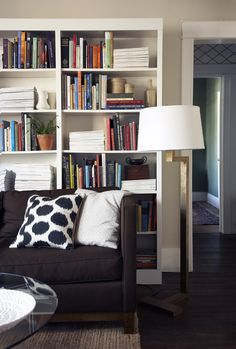 Layered Living Room color flow