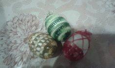 Moje pierwsze jajeczka ;)