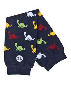 Look what I found on #zulily! Blue Dinosaur Leg Warmers by BabyLegs #zulilyfinds