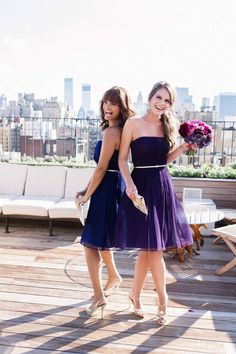 Real bridesmaids are showing off wedding day looks, and we are loving it ... especially when it involves Donna Morgan bridesmaid dresses and stunning bridal inspiration. Each dress has a contemporary design with a certain sophistication that we are totally feeling for this wedding season. See some of our favorite looks below! To see more bridesmaid dresses, click here.
