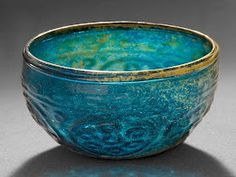 Egyptian glass      what a beautiful color