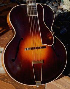 1932 Gibson L-5 Dark Burst  http://www.vintageandrare.com/product/Gibson-L-5-1932-Dark-Burst-47461  #vintageandrare #vandr #guitar #gibson #gibsonguitar #beutiful