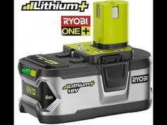 reviving dead no charging ryobi 18 volt battery - YouTube