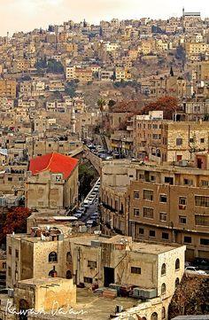 Epic shot of #Amman by @RawanDaas