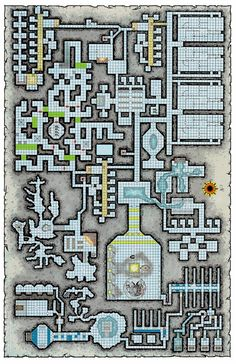 Dungeons and Dragons map