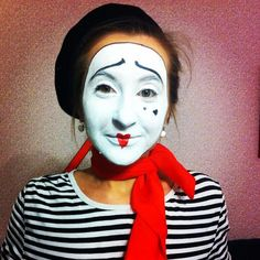 Mime Makeup, Halloween Face Makeup, Goth, Female, Gothic, Goth Subculture