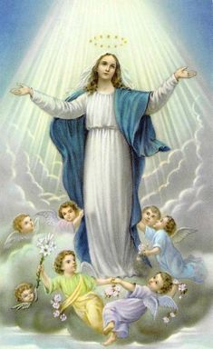 NOVENA OF THE ASSUMPTION OF THE VIRGIN MARY Part II