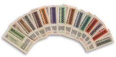 HERBERT BAYER (1900-1985) [GERMAN MARKS.] Group of 14 bank notes. 1923.