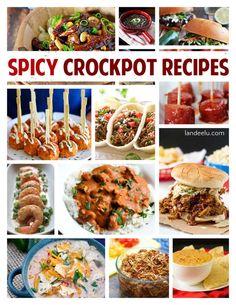 Spicy Crockpot Recipes