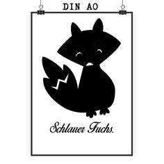 """Poster DIN A0 Fuchs Deluxe aus Papier 160 Gramm  weiß - Das Original von Mr. & Mrs. Panda.  Jedes wunderschöne Poster aus dem Hause Mr. & Mrs. Panda ist mit Liebe handgezeichnet und entworfen. Wir liefern es sicher und schnell im Format DIN A0 zu dir nach Hause. Das Format ist 841 mm x 1189 mm.    Über unser Motiv Fuchs Deluxe  Füchse sind zauberhafte verspielte Waldbewohner, die ein süßes Accessoire sind und jedermann gefallen. Unser Fuchs """"Deluxe"""" ist zeitlos schön und ist das perfekte…"""