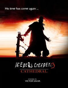 """Upcoming horror movie """"Jeepers Creepers 3"""" will start filming soon. http://besthorrormovielist.com http://facebook.com/HorrorMoviesList #upcominghorrormovies #horrormovies #horror"""