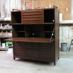 Ordinaire Linear Office Armoires With Steel Base | Desks, Armoires And Warehouse  Apartment