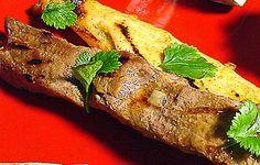 Marinoidut naudanliha- ja kanavartaat Steak, Food, Turmeric, Meals, Yemek, Eten, Steaks