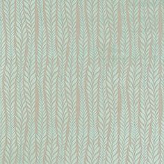 Harlequin Florian 7201 Aqua and Neutral fabric from the Arkona Weaves collection, priced per metre. A simplistic modern leaf trail cut velvet in a fashionable colour palette Harlequin Fabrics, Sanderson Fabric, Wallpaper Keren, Made To Measure Curtains, Curtain Fabric, Woven Fabric, Fabric Design, Weaving, Prints