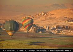 Fancy - Egypt - Luxor - Hot air balloon flight over Nile West Bank & Temples in Valley of the Kings - طيبة - UNESCO World Cultural Heritage site on banks of river Nile - الأقصر - al-Uqṣur | Flickr - Photo Sharing!