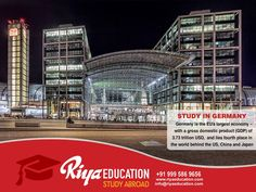 Study abroad in Germany. Secure your future. For more details get in touch with Riya Education. Visit our website.