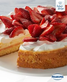 This strawberry shortcake certainly isn't short on flavour.