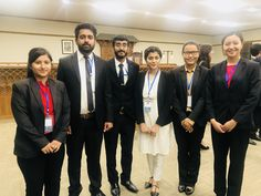 Society of law Representing University of Lahore along with the Dean (Martin lau) of School of law and the team of kathmandu.