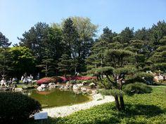 Japanischer Garten in Düsseldorf, Nordrhein-Westfalen