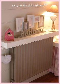 tablettes de radiateurs en m lamin deco pinterest tablette de radiateur radiateur et. Black Bedroom Furniture Sets. Home Design Ideas