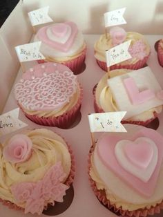 50 Hen do cake flags Mini flag wedding cup cake topper - personalise them