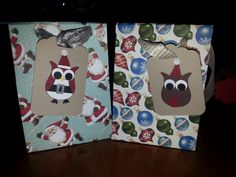 Envelope punch board gift bags