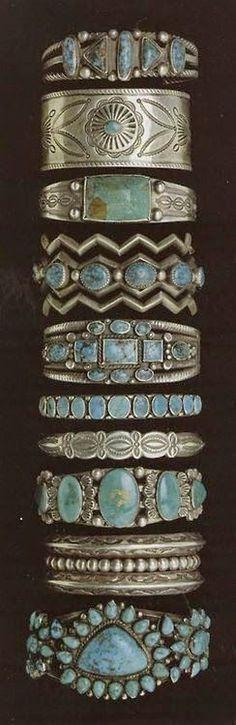 Turquise Armbänder